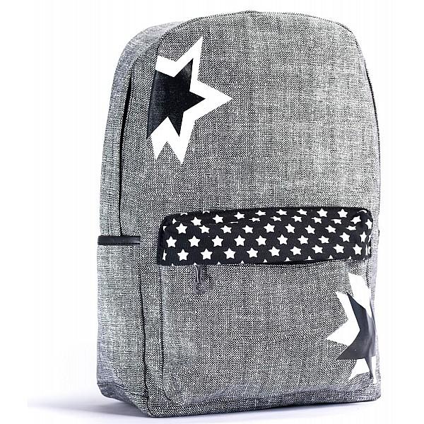 mochila de tela tipo lona