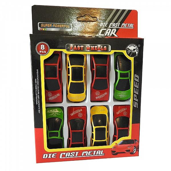 Blister De Autos 8 Unidades